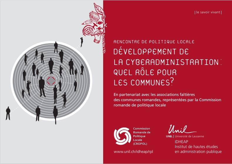 Evénement du 11 novembre 2021 - Développement de la cyberadministration : quel rôle pour les communes ?